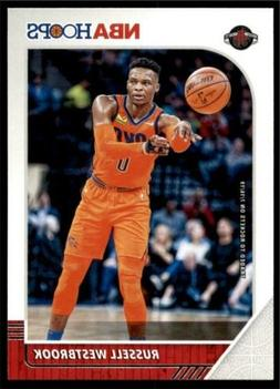 2019-20 Panini NBA Hoops Base #129 Russell Westbrook - Houst