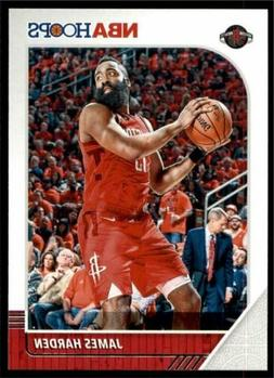 2019-20 Panini NBA Hoops Base #66 James Harden - Houston Roc