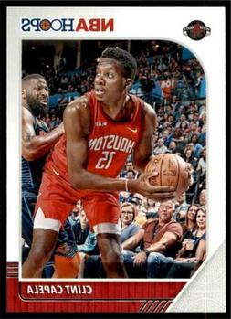 2019-20 Panini NBA Hoops Base #69 Clint Capela - Houston Roc