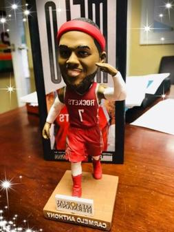 carmelo anthony houston rockets sga bobblehead very