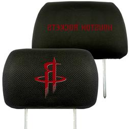 Houston Rockets 2-Pack Auto Car Truck Embroidered Headrest C