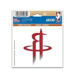 """HOUSTON ROCKETS 3""""X4"""" MULTI-USE DECAL PERFECT FOR CAR WINDOW"""