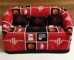 Houston Rockets Basketball Sofa Couch Tissue Box Cover With