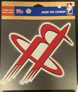 "Houston Rockets Classic 8""x8"" Die Cut Decal NBA Logo Vibrant"