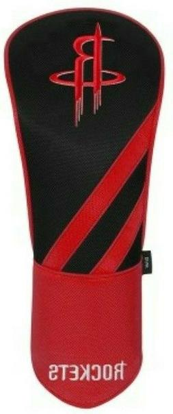 HOUSTON ROCKETS EMBROIDERED DRIVER HEADCOVER INDIVIDUAL NEW