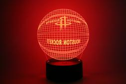 Houston Rockets James Harden Chris Paul Eric Gordon LED Lamp