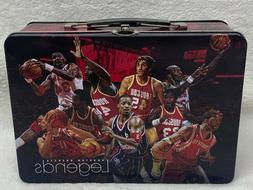 Houston Rockets Legends Tin Lunch Box NBA Collectible Lunchb