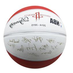 Spalding Houston Rockets Limited Edition Basketball Stamp In