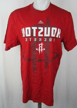 Houston Rockets Men's Adidas Screen Printed Graphic T-Shirt