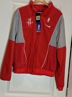 Nike Houston Rockets Retro Tracksuit Jacket Windbreaker    s