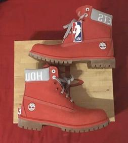 Houston Rockets Timberland's Red A249E A3240 Texas 9.5 brand