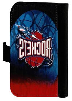 HOUSTON ROCKETS SAMSUNG GALAXY & iPHONE CELL PHONE CASE LEAT