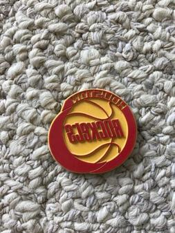 HOUSTON ROCKETS VINTAGE 1990s VERY COOL LOOKING MAGNET OLD S