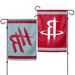 Houston Rockets WC Garden Flag Premium 2-Sided Outdoor House