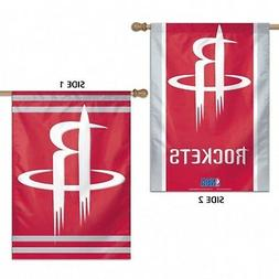 Houston Rockets WC Premium 2-Sided 28x40 Banner Outdoor Hous
