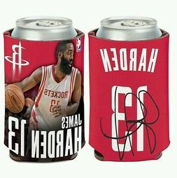 JAMES HARDEN HOUSTON ROCKETS Can Bottle Coozie Cooler FREE S