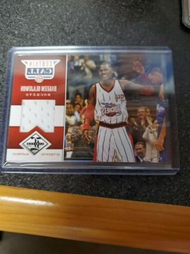 hakeem olajuwon 2012 13 limited curtain call