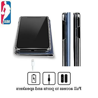 NBA BLUE STAND CASE FOR iPHONE PHONES