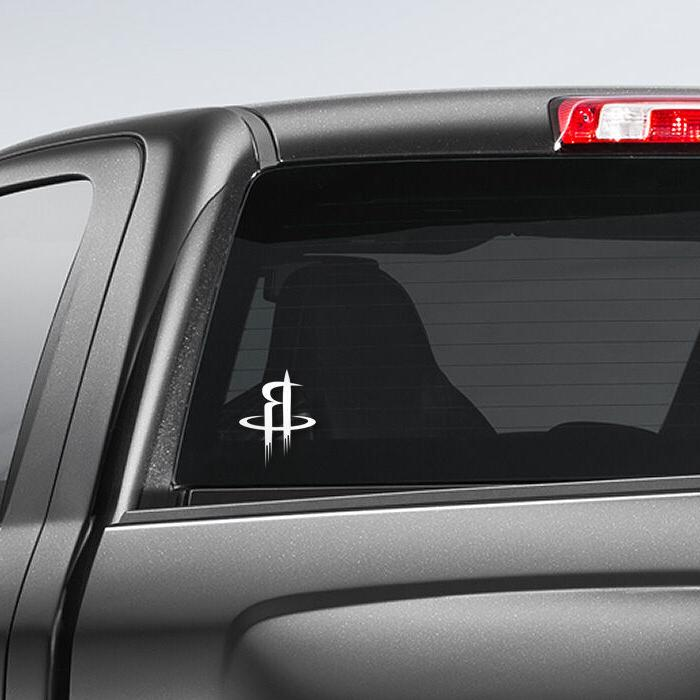 Houston Rockets NBA Decal - and Larger - Color