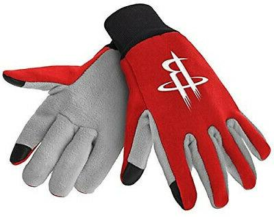 houston rockets texting gloves new one size