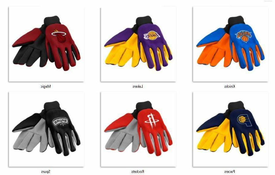 nba colored palm utility gloves by forever