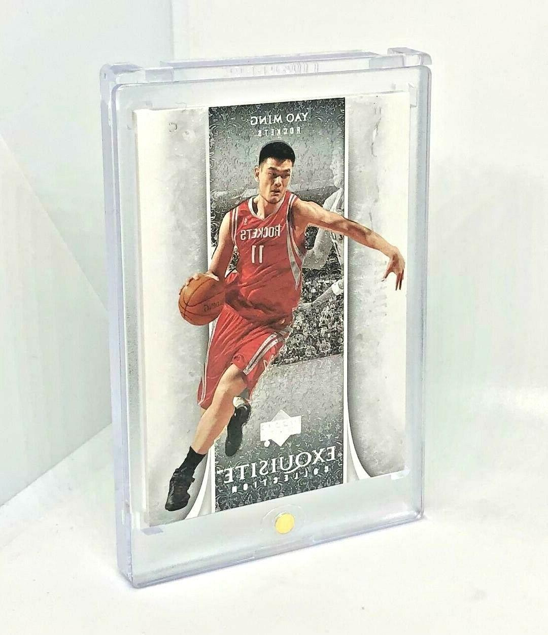 YAO 2005-06 Exquisite Collection-#ed Rockets-BEAUTIFUL CARD