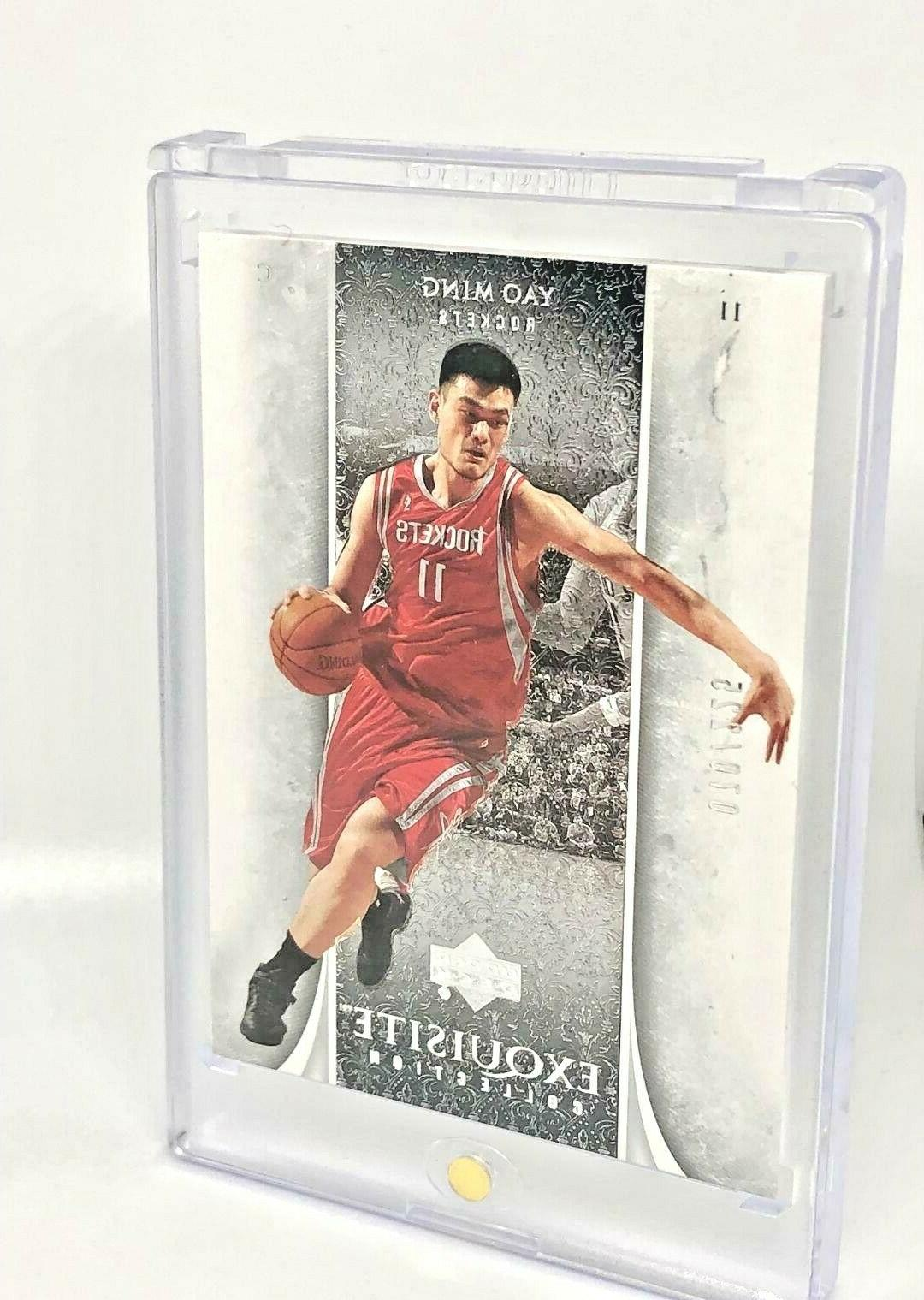 YAO MING Collection-#ed CARD
