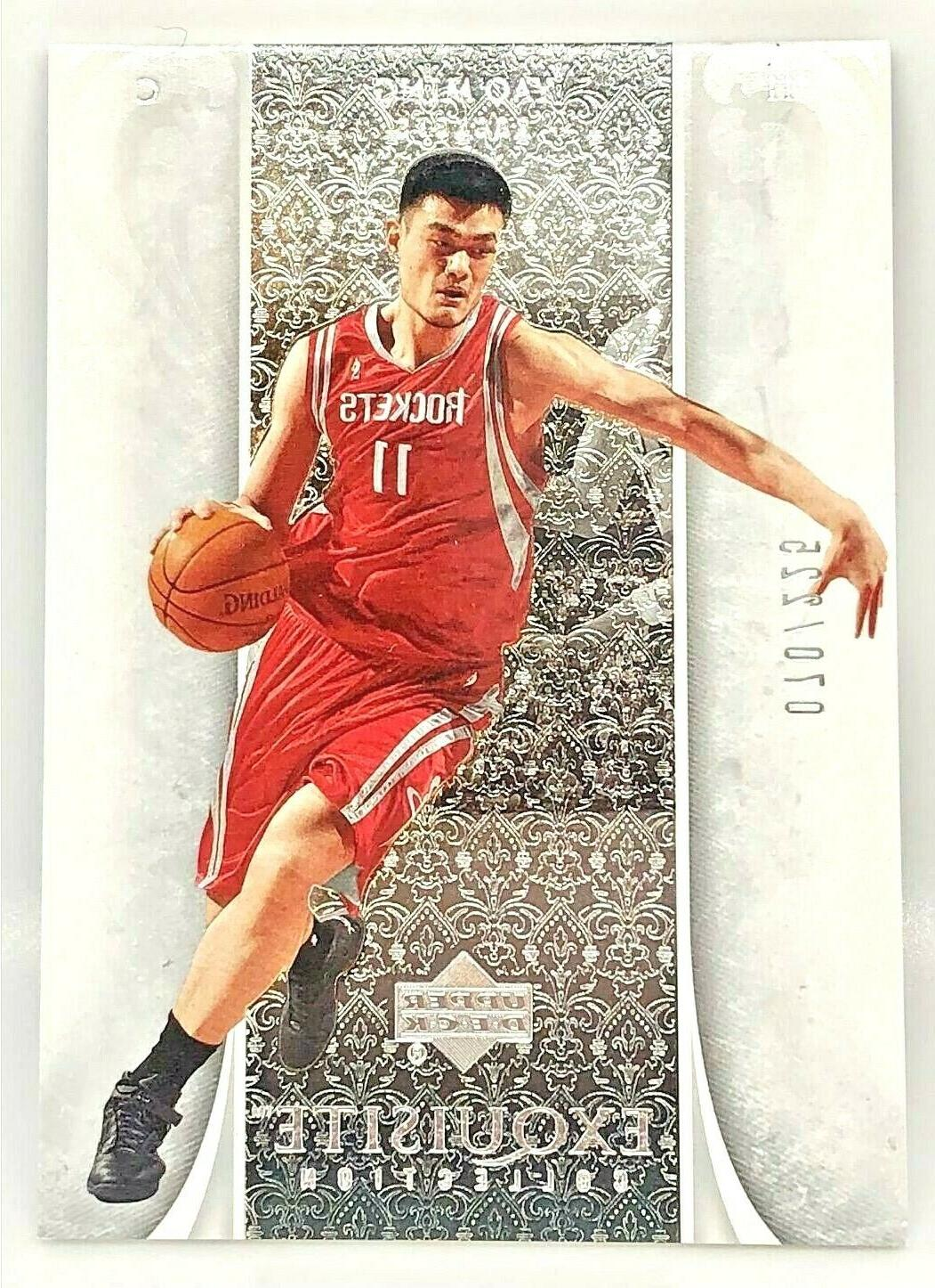 yao ming 2005 06 exquisite collection ed