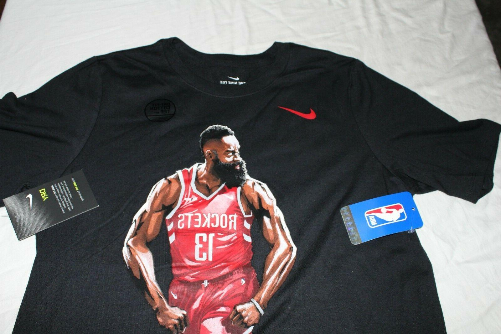 Nike Harden Houston T-Shirt New With Tags