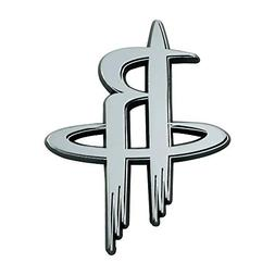 Fanmats NBA Houston Rockets Chrome Emblemchrome Emblem, Team