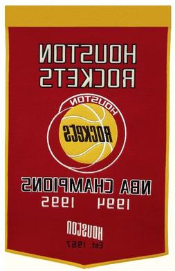 NBA Houston Rockets Dynasty Banner