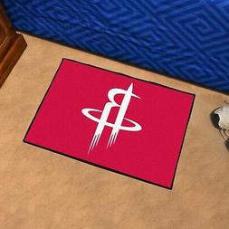FANMATS NBA Houston Rockets Nylon Face Starter Rug