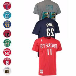NBA Mitchell & Ness HWC Throwback Retro Player Name & Number