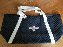 NWT Little Earth Houston Rockets Weekender Quilted Bag Duffe