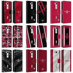 OFFICIAL NBA HOUSTON ROCKETS LEATHER BOOK WALLET CASE COVER
