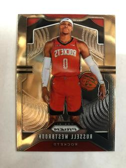 Russell Westbrook Houston Rockets 2019-20 Panini Prizm #182
