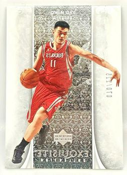 YAO MING 2005-06 Exquisite Collection-#ed 70/225- Houston Ro