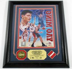 Yao Ming Game Used Collection Photo Net Coin Highland Mint F